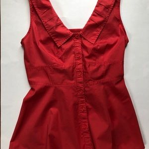 Anthropologie Tops - O'dille Anthropology button up tank